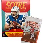 2019 Score NFL Football Blaster Box 132 Cards...