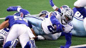 New York Giants vs. Cowboys in Week 17