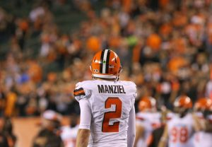 Johnny Manziel is returning to football, sort of