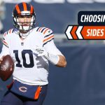 How many yards will Chicago Bears QB Mitchell...