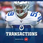 Colts sign linebacker Chris Covington to practice...