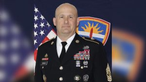 Packers salute U.S. Army Command Sergeant Major...