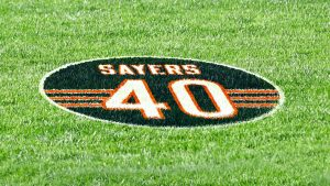 Chicago Bears to honor Gale Sayers during Week 17...