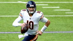 Bears QB Mitchell Trubisky presented with 2020...