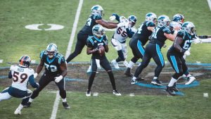 Panthers' offensive line a work in progress, and...
