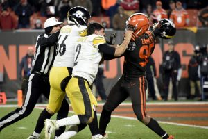 Myles Garrett will be game captain for Browns in...