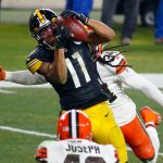 Chase Claypool says Browns will get 'clapped' by...