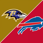 Follow live: Josh Allen, Lamar Jackson face off in...