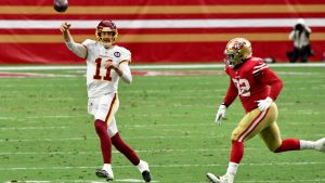 Alex Smith, Terry McLaurin questionable for season...