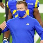 "Sean McVay ""not sure"" whether Jared Goff will play..."