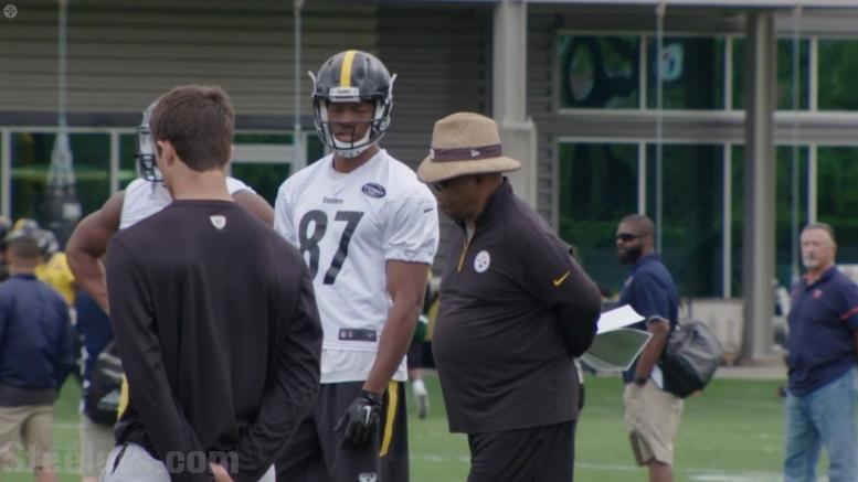 Steelers TEs Coach James Daniel Announces...