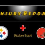 Browns Wednesday Injury Report Super Wild Card...