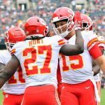 Patrick Mahomes on Kareem Hunt: That's my dude