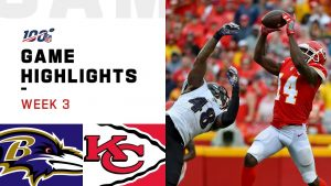 Ravens vs. Chiefs Week 3 Highlights   NFL 2019