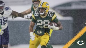 Packers RB AJ Dillon voted NFL Rookie of the Week
