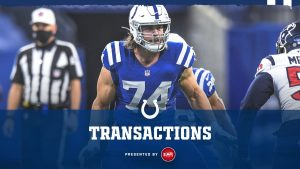 Colts Place T Anthony Castonzo On Injured Reserve;...