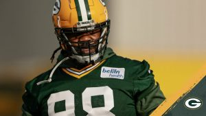 Packers excited about Damon 'Snacks' Harrison