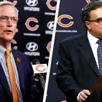 Chicago Bears chairman George H. McCaskey,...