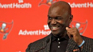 Tampa Bay Buccaneers DC Todd Bowles, RB Ronald...
