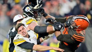 Pittsburgh Steelers' Mason Rudolph hasn't heard...