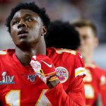 Kansas City Chiefs WR Sammy Watkins out, RB Clyde...