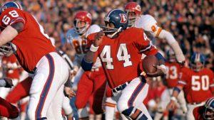 Denver Broncos Hall of Fame RB Floyd Little dies...