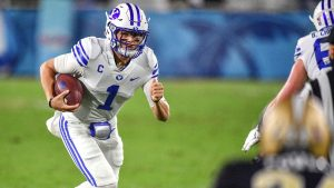 BYU Cougars QB Zach Wilson, likely first-round...