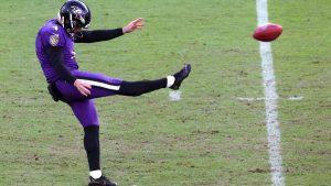 Baltimore Ravens punter Sam Koch's 15-year...