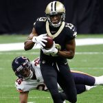 Saints' Drew Brees hits Michael Thomas, who scores...