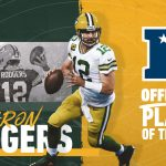 Packers QB Aaron Rodgers named NFC Offensive...